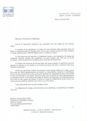 Courrier Fillon PR agri 1507100001